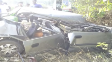 DEADLY ACCIDENT ON GOA – MUMBAI HIGHWAY AT PERNEM, 2 DIED ON THE  SPOT, ONE SERIOUSLY INJURED ADMITTED INTO GMC