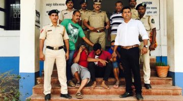 CALANGUTE POLICE BUSTED THE INTERNATIONAL SEX RACKET AND ARRESTED A PROCURER AND TWO CUSTOMERS FOR TRAFFICKING
