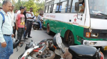 EVERY DAY ONE PERSON DIES IN THE ROAD ACCIDENT IN GOA, CLAIMS THE REPORT