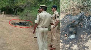 COMPLETELY BURNT BODY OF A YOUNG GIRL FOUND IN SIOLIM VILLAGE IN NORTH GOA, POLICE INVESTIGATING IF THE DECEASED IS FOREIGNER OR INDIAN