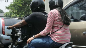 NOW THE HELMET WILL BE COMPULSORY FOR PILLION RIDERS, SAYS SP TRAFFIC DEVESH MAHALA