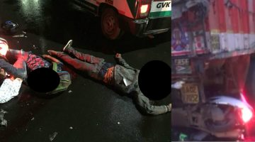 ANOTHER DEADLY ACCIDENT IN VASCO DA GAMA. GOA – TWO YOUTH DIED ON THE SPOT IN A SELF ACCIDENT ON SHANTINAGAR HIGHWAY
