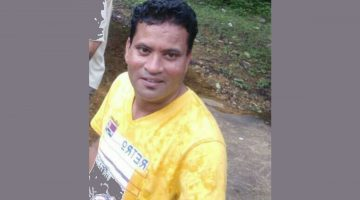 A 41-YEAR-OLD AJAY KINLIKAR, DIED IN A ROAD ACCIDENT AT OLAULIM ALDONA GOA