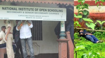 MURDER OR SUICIDE? POLICE CONSTABLE KISHOR SHIRODKAR'S BODY FOUND IN MYSTERIOUS CONDITION LYING IN THE PREMISES OF OPEN SCHOOL IN PORVORIM…