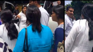 PANAJI BY POLL TAKES VIOLENT TURN AS BJP AND CONGRESS WORKERS CLASHED WITH EACH OTHER AT CARANZALEM POLLING BOOTH