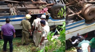 DEADLY ACCIDENT IN PERNEM – BUS OVERTURNED INJURING 21 PEOPLE SERIOUSLY, SOME PEOPLE STARTED ROBBING THE PASSENGER FOLLOWING AN ACCIDENT