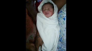 THE INFANT BABY GIRL WAS FOUND ABANDONED AT CURTORIM VILLAGE IN SOUTH GOA