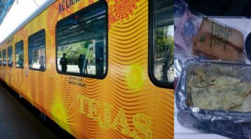 THE GOA-MUMBAI TEJAS EXPRESS SERVES THE FOOD THAT PASSENGERS DO NOT WANT TO CONSUME DUE TO ITS POOR QUALITY AND HYGIENE ISSUES