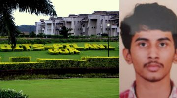21-YEAR-OLD FINAL YEAR ENGINEERING STUDENT OF BITS PILANI GOA COMMITTED SUICIDE IN THE CAMPUS