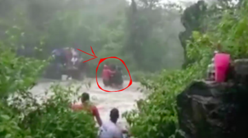 MASSIVE TRAGEDY STRUCK AS FIVE PEOPLE FROM SOUTH GOA DROWNED IN THE WATERFALL AT KARNATAKA