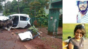 Deadly Accident at Assagao, Two Youth Died, and Two are in Critical Condition admitted in GMC