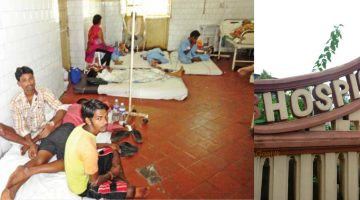 THE PATHETIC CONDITION OF HOSPICIO HOSPITAL IN MARGAO IS A NEVER ENDING PROCESS. WHO IS RESPONSIBLE FOR THIS?