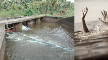 13-YEAR-OLD SCHOOL BOY DROWN AT ACOI SLUICE GATE NEAR MAPUSA, GROUP OF SIX BOYS HAD VENTURED INTO WATER FOR SWIMMING