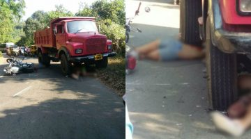 2 UK Nationals Killed in a Deadly Road Accident At Agonda in Canacona, Truck Driver Detained for Rash Driving