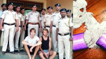 Drug Menace is Growing in the Coastal Belts of Goa, Pernem Police recovered LSD worth 64 Lacs from two German nationals