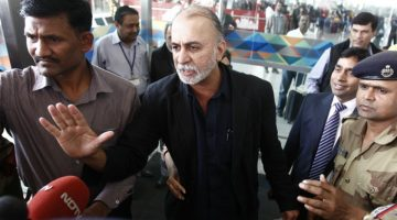 SUPREME COURT SET ASIDE THE STAY PLEA OF TARUN TEJPAL, AND ASKS THE TRAIL COURT TO PROCEED WITH THE DEPOSITION OF WITNESSES, IN AN ALLEGED SEXUAL ASSAULT CASE