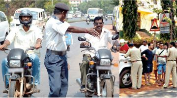 Foreigners Violating The Traffic Rules in Goa without The Fear of Law and Order, Traffic Police Have Decided to Act on This