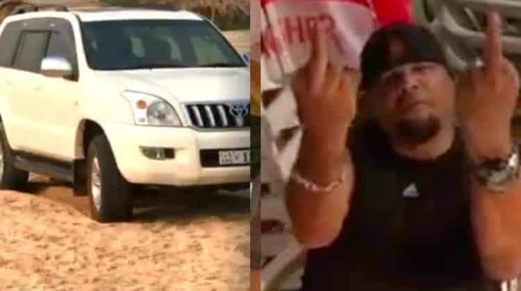 The Viral Video of Ex-MLA Misbehaving on the beach Creates a Sensation in National Media, Take a Look Here and Decide