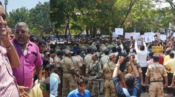 Goa Taxi Union Members Were Behind the Violence at Mining Agitation in Panaji